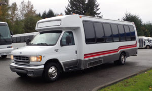 2017 24 Passenger Ford E450 or E550 Shuttle Mini Coach